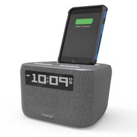 iHome iPL8 Speaker System with Lightning Dock and Alarm