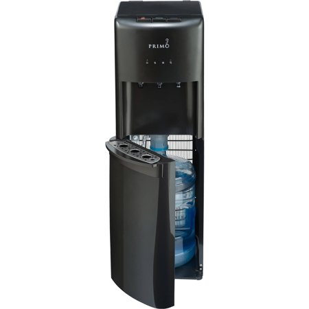 Primo Deluxe Bottom Loading ENERGY STAR Hot/Cool/Cold Water Dispenser, Pewter, Model 601089 1 Instant Hot Water Dispenser