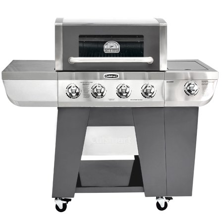 Cuisinart Deluxe Four-Burner Gas Grill (Convert From Propane To Natural Gas Bbq)