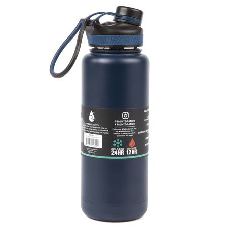 d826816aab2 Tal 40 Ounce Double Wall Vacuum Insulated Stainless Steel Ranger Pro Water  Bottle, ...