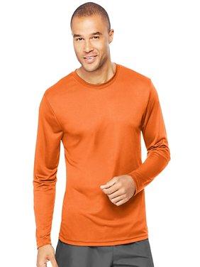 Sport Mens Cool DRI Performance Long Sleeve Tshirt (50+ UPF)