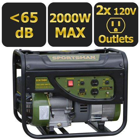 Sportsman Gasoline 2000W Portable Generator (Generator Price In India For Home Use)