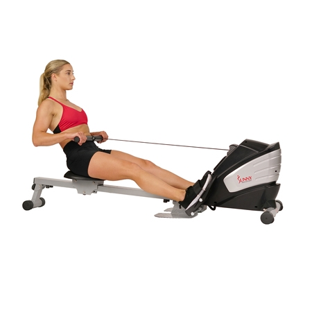 Sunny Health & Fitness SF-RW5622 Dual Function Magnetic Rowing (Best Dp Rowing Machine)