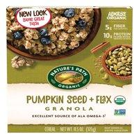 (2 Pack) Nature's Path Organic Granola, Pumpkin Seed & Flax, 11.5 Oz