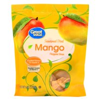 (3 Pack) Great Value Sweetened Dried Mango, 6 oz