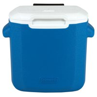 Coleman 16-Quart Performance Cooler with Wheels, Blue