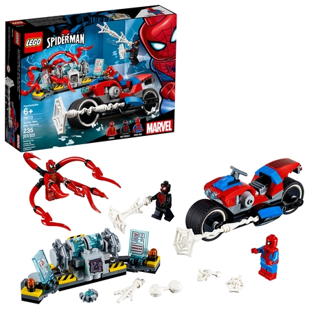 LEGO Super Heroes Spider-Man Bike Rescue 76113](Nova Superhero)