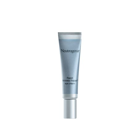 Neutrogena Rapid Wrinkle Repair Eye Cream with Hyaluronic Acid, 0.5 fl. (Best Eye Cream For Thin Crepey Skin)