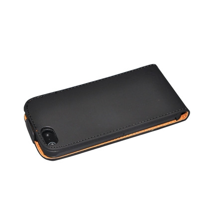 Fashion Noble Vertical Closure Flip Leather Case Cover for Apple iPhone 5 5S SE