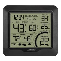 La Crosse Technology 327-1417BW Wind Speed Weather Station with Combination 3-in-1 Sensor