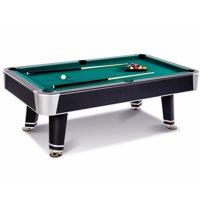 Barrington 7.5 Ft. Arcade Billiard Table with Cue Set & Accessory Kit, Black/Green
