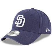 8d3eaade3a169 San Diego Padres New Era Logo Core Fit 49FORTY Fitted Hat - Navy