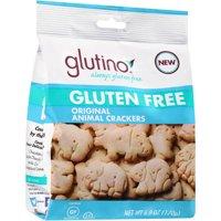 (2 Pack) Glutino Gluten Free Original Animal Crackers, 6 oz