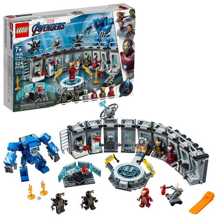 LEGO Marvel Avengers Iron Man Hall of Armor 76125 - Marvel Lego Sets