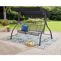 Mainstays Jefferson 3-Person Canopy Porch Swing