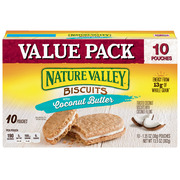 Nature Valley Toasted Coconut Biscuits with Coconut Filling 10 Count