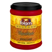 Folgers Flavors Hazelnut Ground Coffee, 11.5 oz