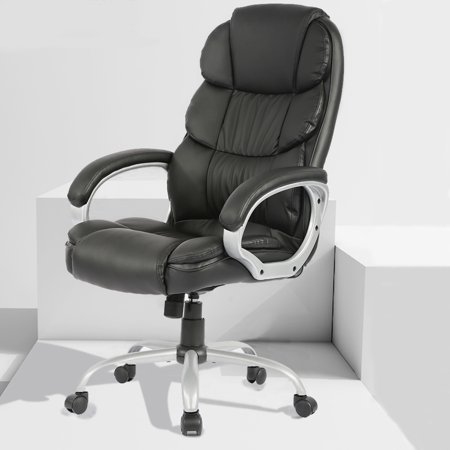 Office Desk Chair Ergonomic Swivel Executive Adjustable Task Computer Chair High Back Office Desk Chair With Back Support In Home