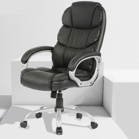 Office Desk Chair Ergonomic Swivel Executive Adjustable Task Computer Chair High Back Office Desk Chair With Back Support In Home Office