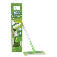Swiffer Sweeper Pet Dry + Wet Sweeping Kit (1 Sweeper, 7 Dry Cloths, 3 Wet Cloths)