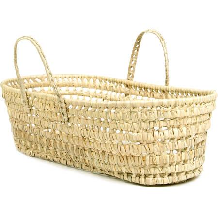 Leaf Trap Basket - Tadpoles Organic Palm Leaf Moses Basket