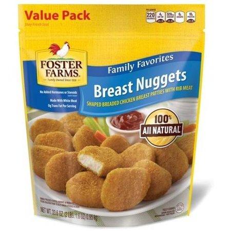 Foster Farms Chicken Breast Nuggets 336 Oz Walmart
