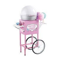 "Nostalgia Electrics 50"" Tall Vintage Collection Commercial Cotton Candy Cart, CCM600"