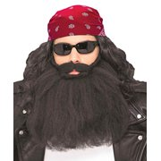 bb863225874 Forum Novelties Men s Biker Beard And Mustache Set Black 14
