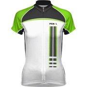 Primal Wear Frequency EVO Women s Cycling Jersey  Green Black White f4fafd971