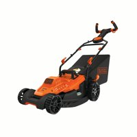 "BLACK+DECKER BEMW472ES EASY STEAR 10AMP 15"" ELECTRIC MOWER"
