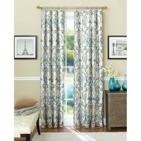 Better Homes & Gardens Ikat Scroll Curtain Panel