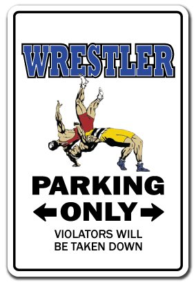 WRESTLER Decal wrestle sports athlete coach high school college wrestling | Indoor/Outdoor | 5