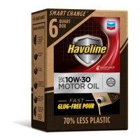 Havoline SMART CHANGE® Motor Oil 10W-30, 6qt