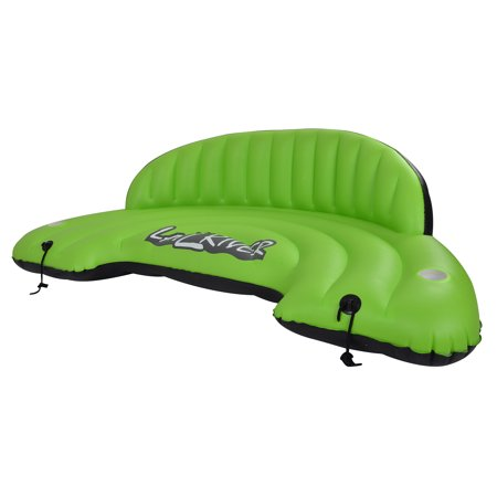 Blue Wave Sports LayZRiver Inflatable Swim Sofa Float - Inflatable Sports