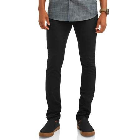Phat Farm Men's Twill Pant (Black Mens Pants)