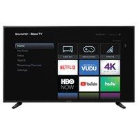 "Sharp 58"" Class 4K Ultra HD (2160P) HDR Roku Smart LED TV (58Q7330U)"
