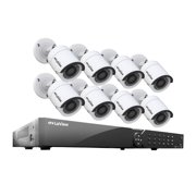 cc153bb2026c1 LaView 16 Channel DVR Security System W 8 HD 1080P Indoor Outdoor Surveillance  Cameras