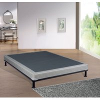 """Mattress Solution, 4"""" Fully Assembled Box Spring/Foundation for Mattress 