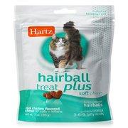 Hartz Hairball Remedy Plus Soft Chews, Chicken Flavor, 3 oz.