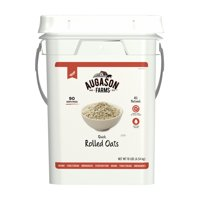 Augason Farms Quick Rolled Oats Emergency Food Storage 10 Pound Pail