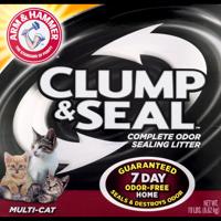 Arm & Hammer Clump & Seal Fresh Home Cat Litter, 19-lb Box
