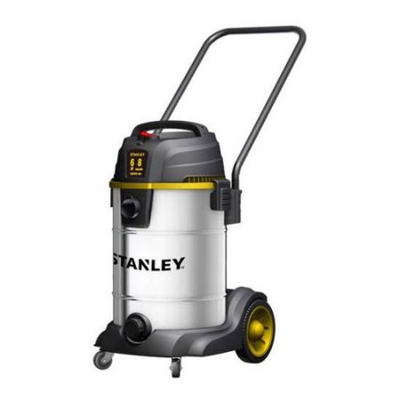 Steel Shop Vacuum (Stanley, SL18402-8B, 6.0 Peak HP 8 Gallon Stainless Steel Wet Dry Vac Tool Caddie and Blower)
