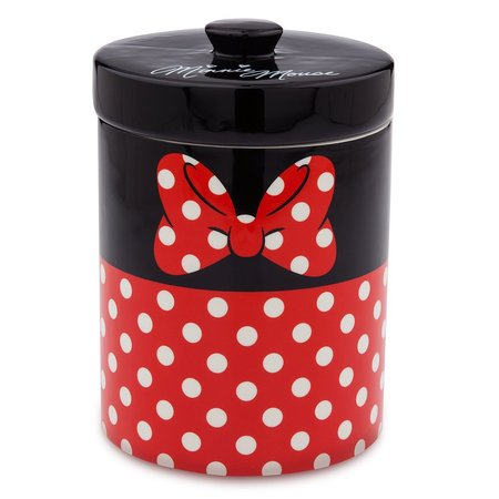 disney parks signature minnie mouse kitchen canister cookie jar ceramic new](Halloween Cookie Jar Recipe)