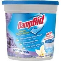 (2 Pack) DampRid Refillable Moisture Absorber, Lavender Vanilla, 10.5 Oz