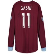 2963aacbac2 Shkelzen Gashi Colorado Rapids Autographed Match-Used Maroon #11 Jersey  from the 2018 MLS