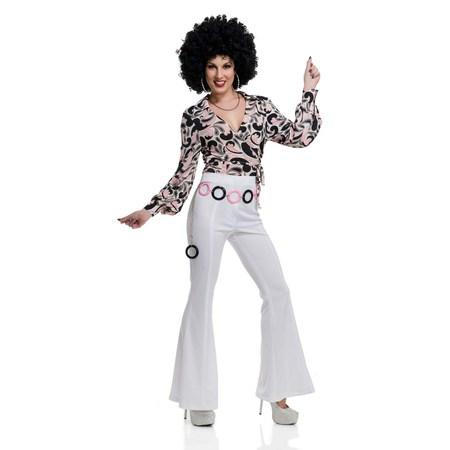 Halloween 70'S Hottie Disco Shirt - 70's Womens Halloween Costume