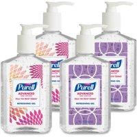 (Pack of 4) PURELL® Advanced Refreshing Gel Instant Hand Sanitizer Design Series, 8 Oz