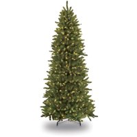 Puleo International 7.5 ft. Pre-Lit Slim Fraser Fir Artificial Christmas Tree with 500 Clear UL listed Lights