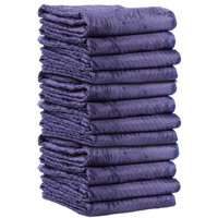Uboxes Supreme Moving Blankets, 72 x 80 in, 6.67lbs each, 12 Pack