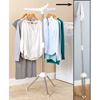 Bigbolo Foldable Drying Rack Laundry Clothing Stand Collapsible Portable Small Air Dry (1 Tier)